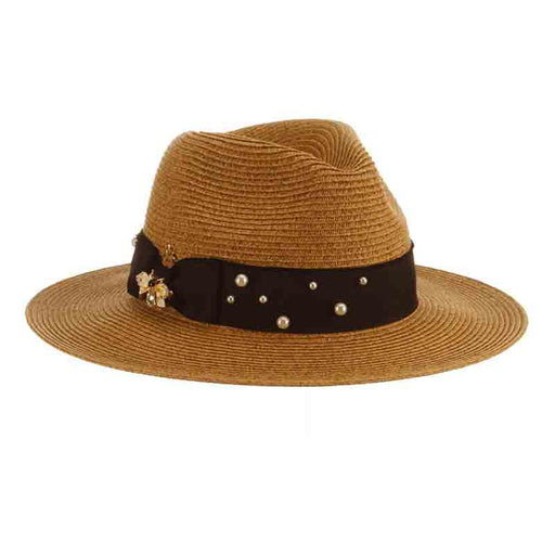 CSW344 pearl and bee safari hat the pearls collection women's hats