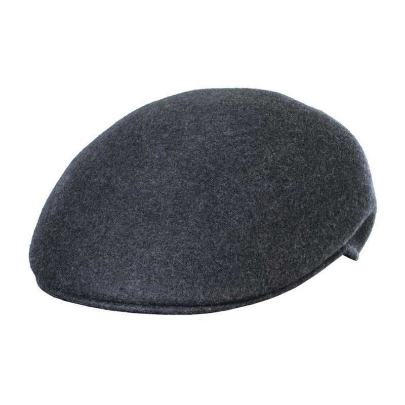 Crushable Water Repellent Wool Felt Ascot Cap, up to 2XL - Scala Hat