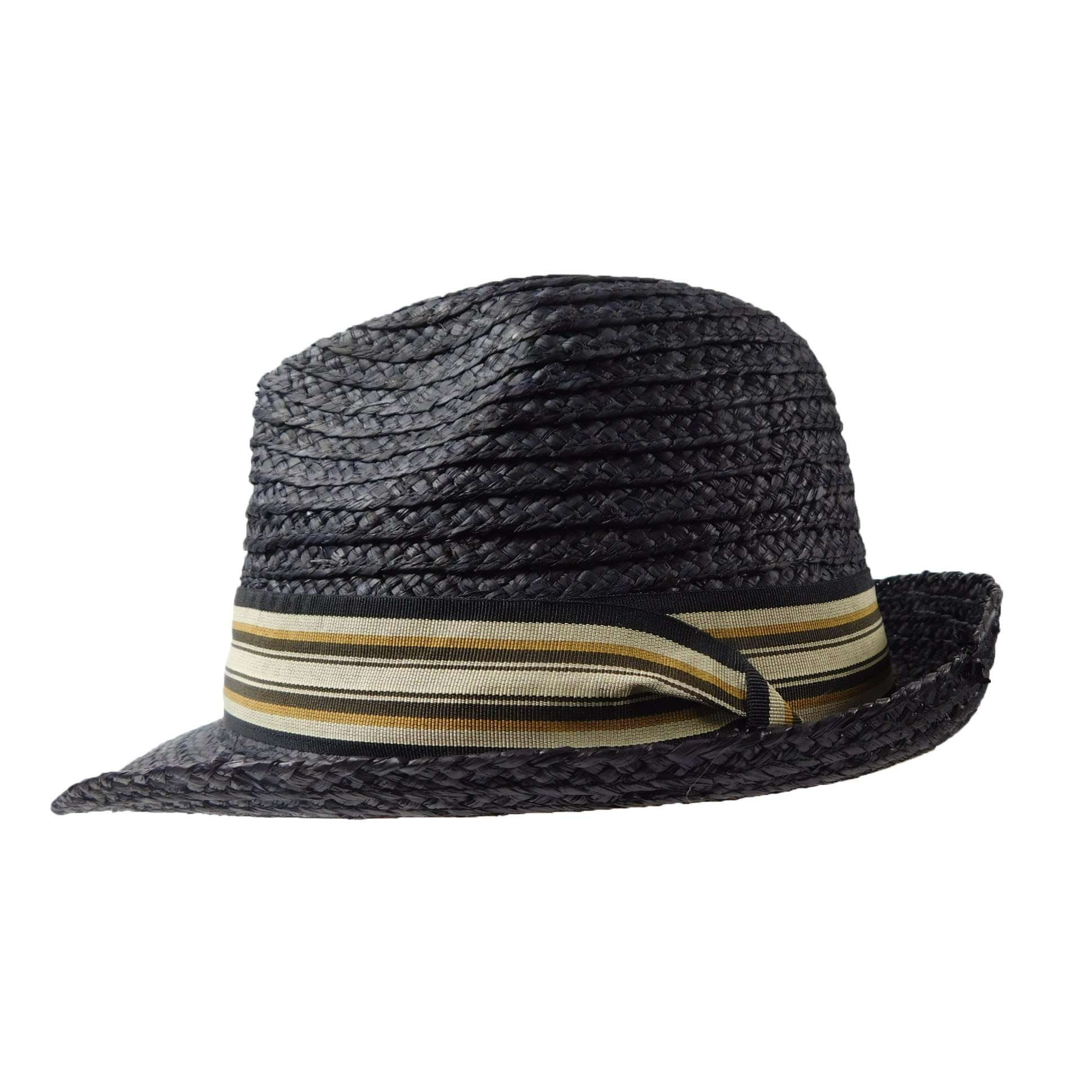 Fedora- Crushable Raffia - SetarTrading Hats