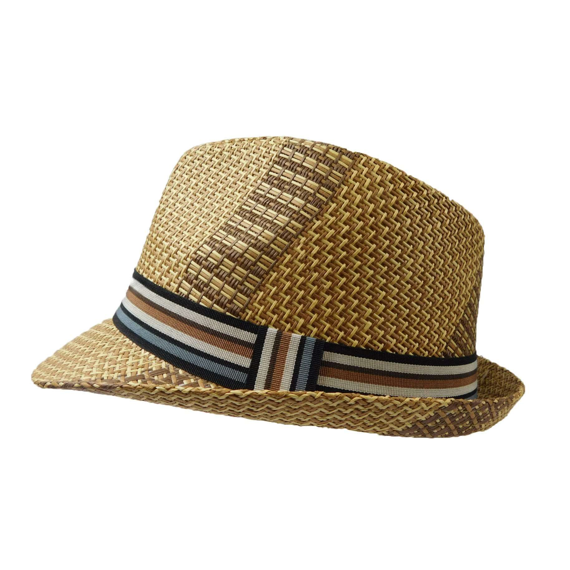 Fedora with Multi Color Band - SetarTrading Hats