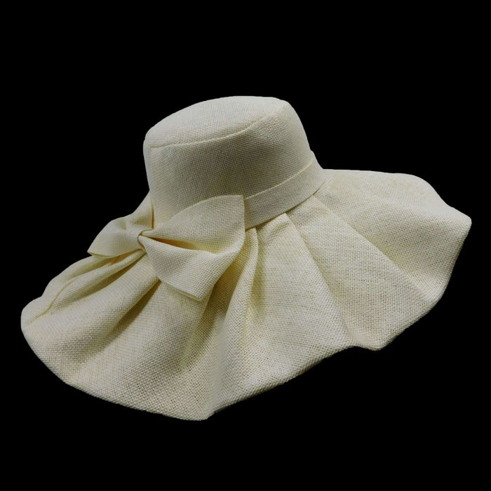 Sunhat with big bow - SetarTrading Hats