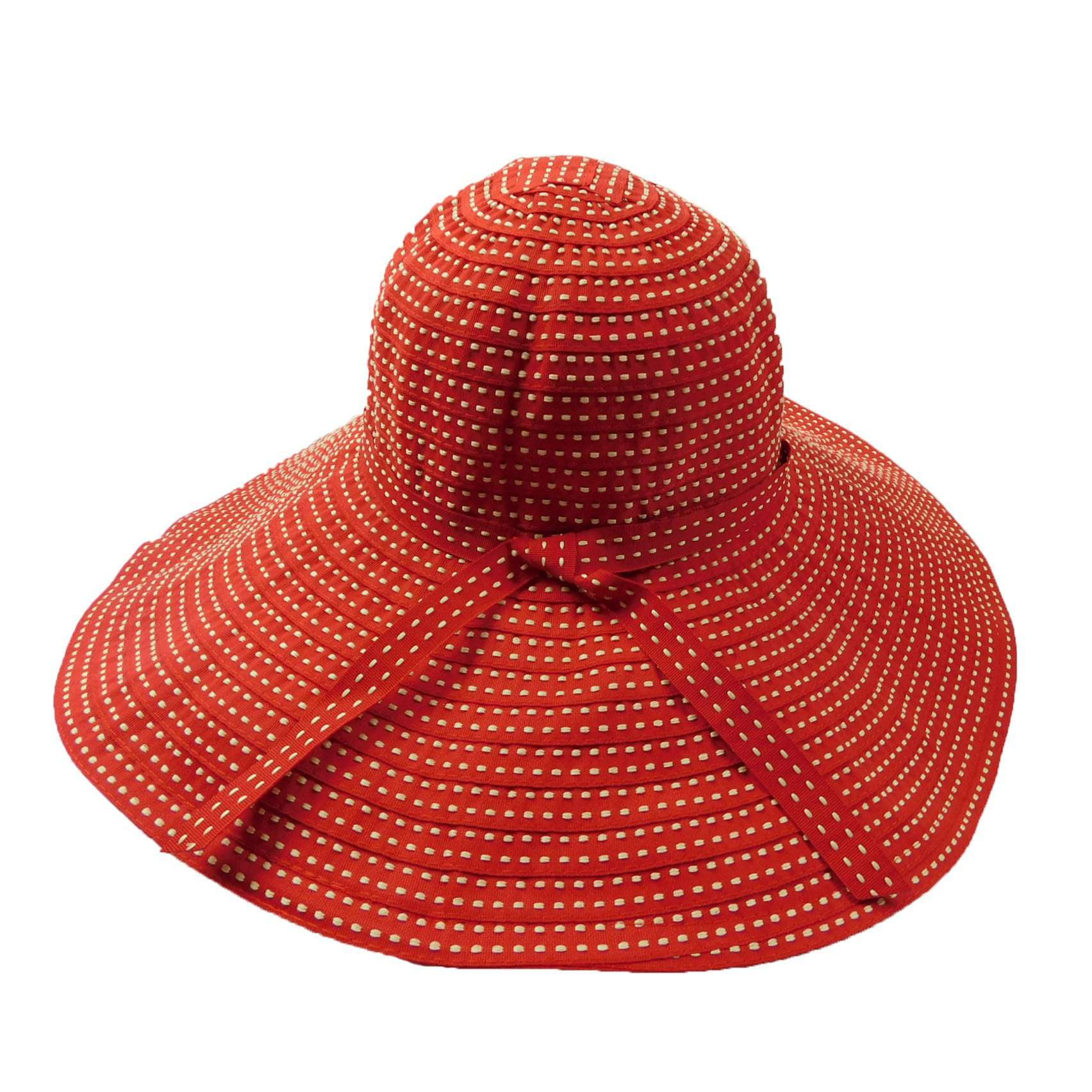 51f61d0e69e Shapeable Ribbon Floppy Sunhat