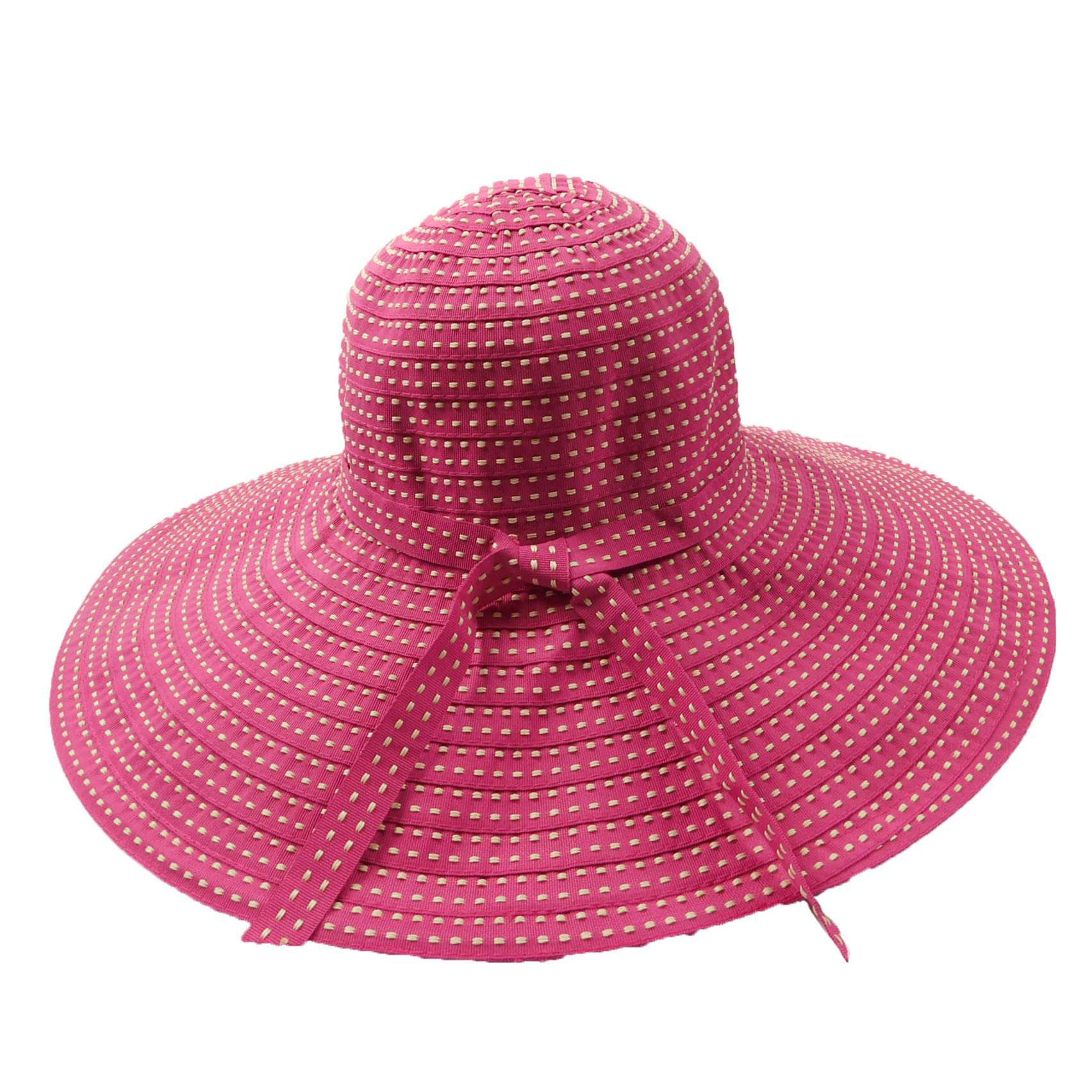 Shapeable Ribbon Floppy Sunhat - SetarTrading Hats
