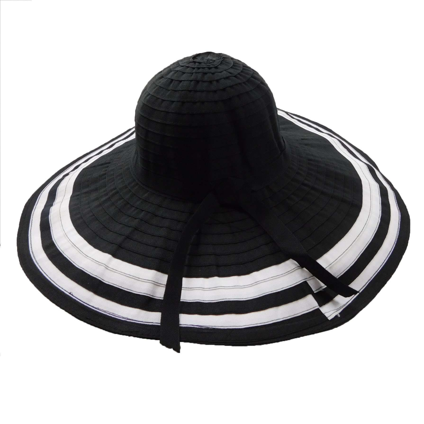 Ribbon Floppy with White Stripes - SetarTrading Hats