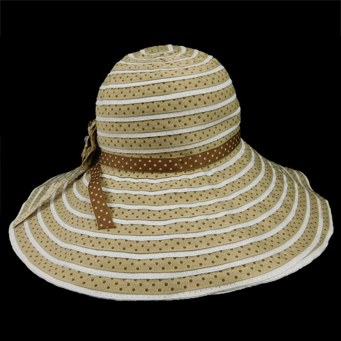 Sun Hat with Polka Dots - SetarTrading Hats