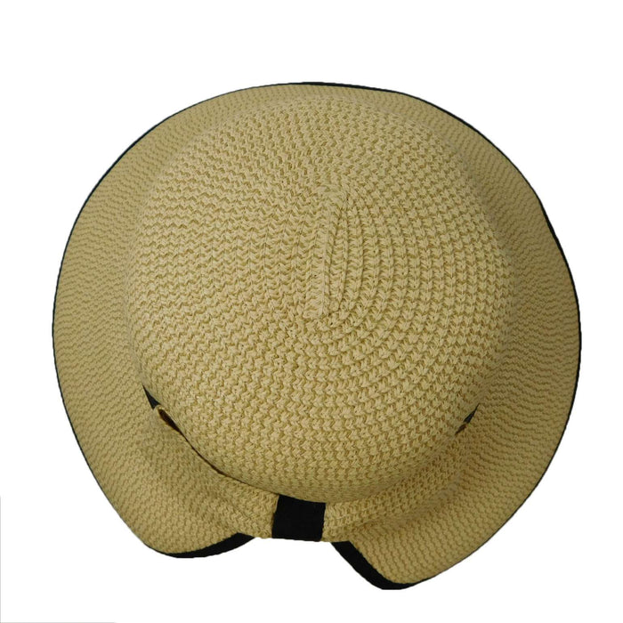 Big Brim Hat with V-Cut Back - SetarTrading Hats