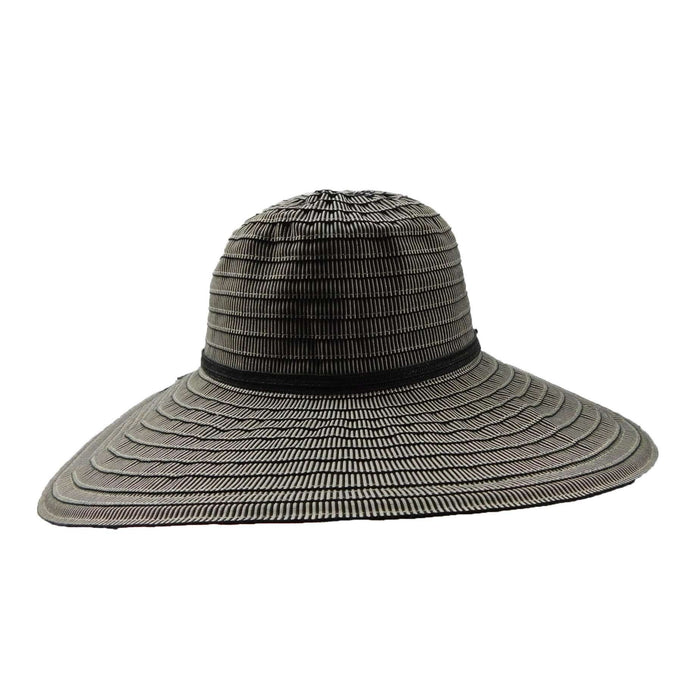 Ribbon Flat Brim Summer Hat - SetarTrading Hats