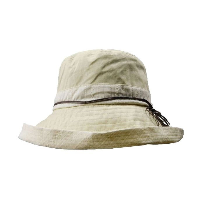 Linen Kettle Brim Hat--XL - SetarTrading Hats