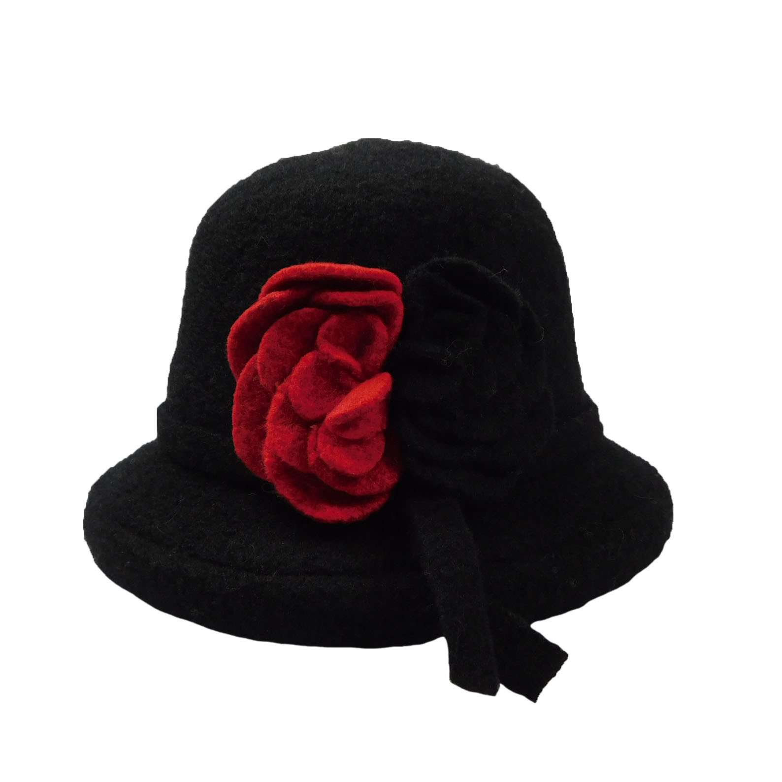 Boiled Wool Medium Brim Hat - SetarTrading Hats