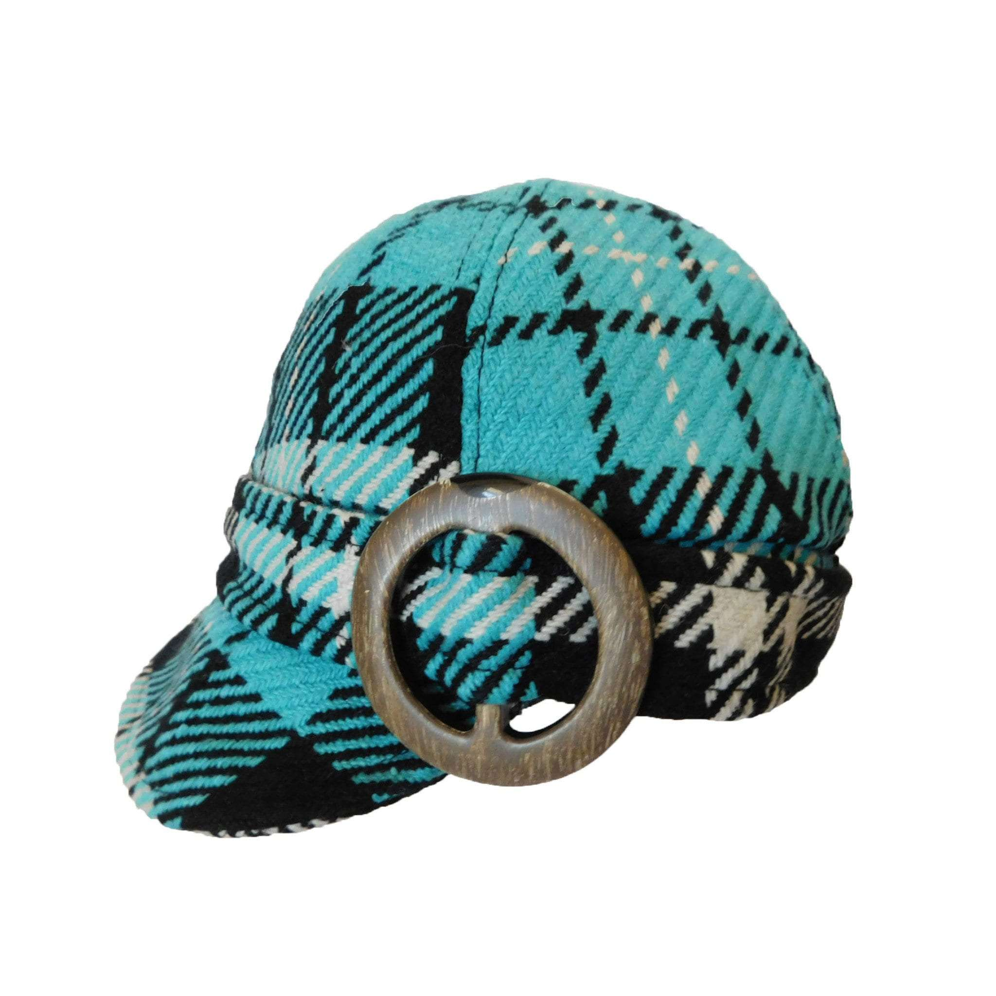 Jockey Cap with Faux Horn Ring by Scala - SetarTrading Hats