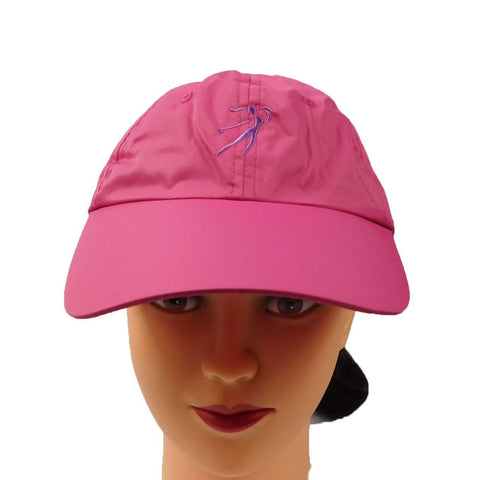 Ginnie Cap in Microfiber with Golf Logo