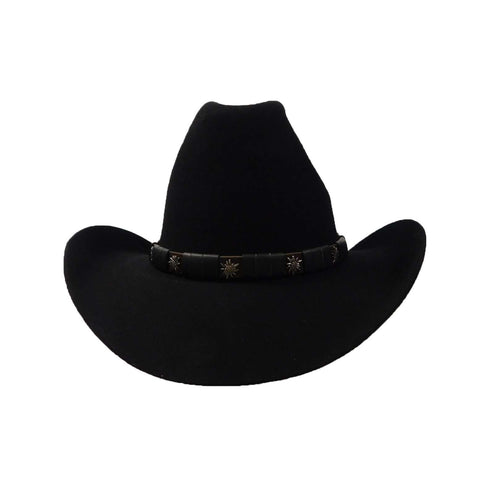 Cattleman Hat-Black