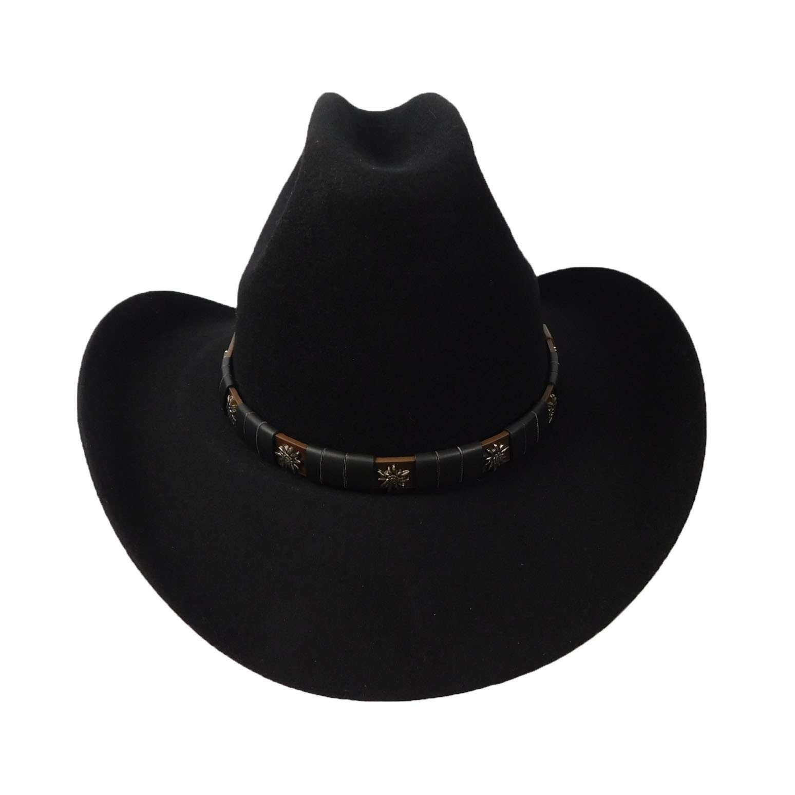 Cattleman Hat-Black - SetarTrading Hats