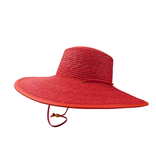 Boater with Large Brim and Chin Cord - SetarTrading Hats