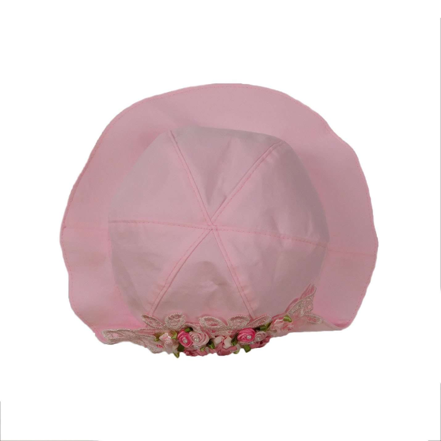Vintage Pink Summer Hat for Baby Girls - SetarTrading Hats