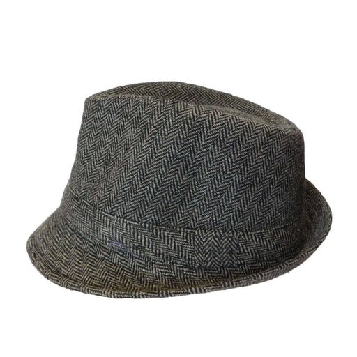Herringbone Winter Trilby - SetarTrading Hats