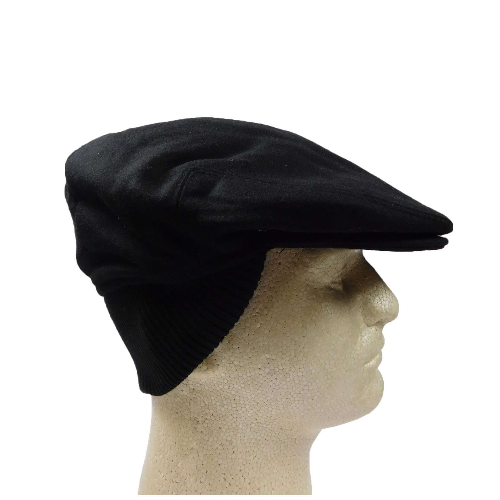 Wool Ivy Cap with Knit Ear Flap - SetarTrading Hats
