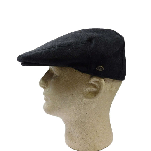 Wool Ivy Cap-Charcoal - SetarTrading Hats