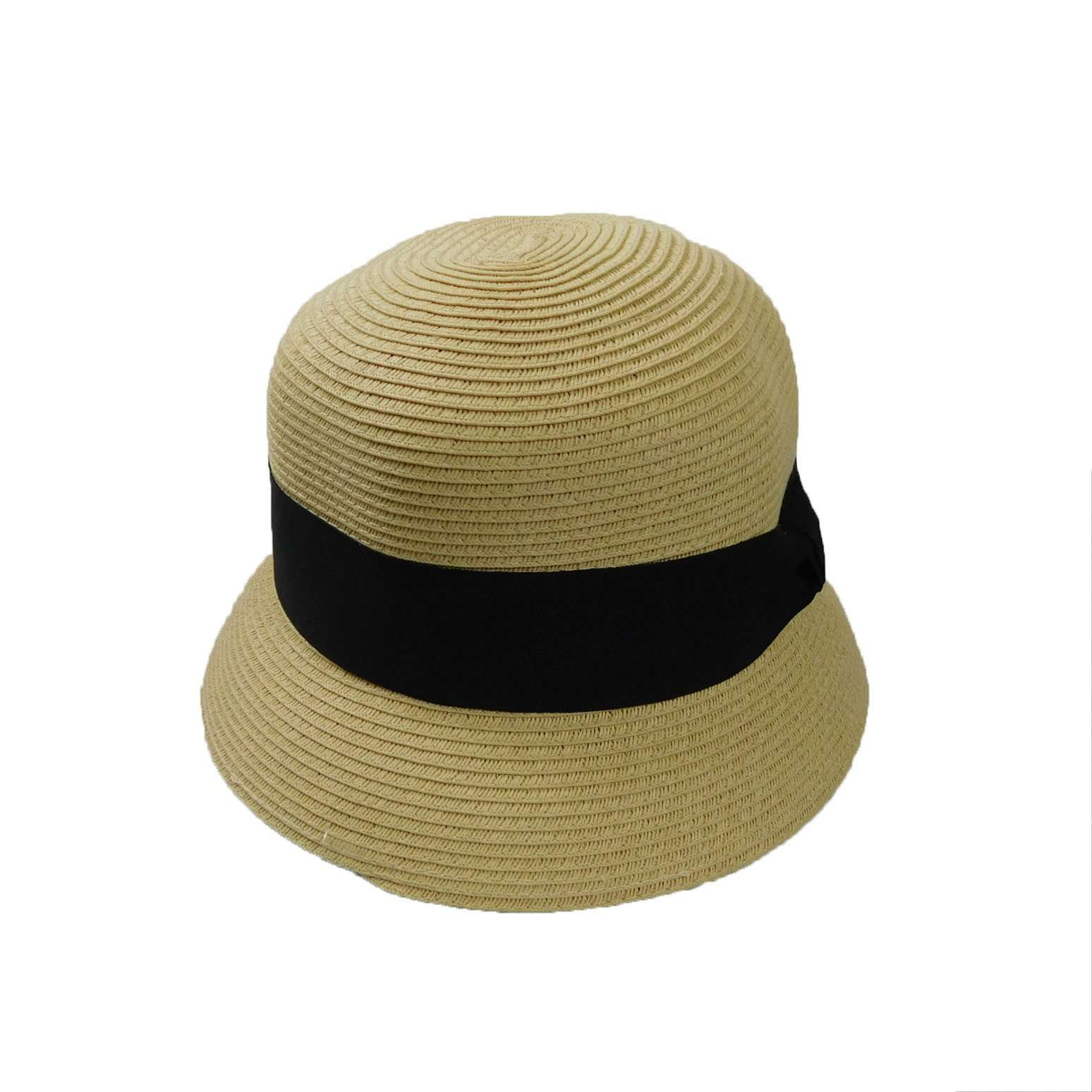 Summer Cloche with Wide Band - SetarTrading Hats