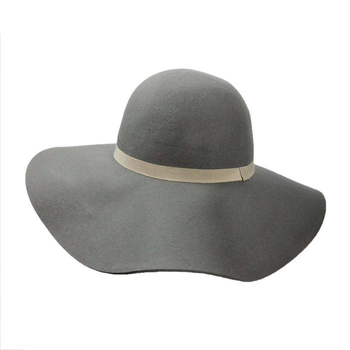 Large Brim Wool Felt Floppy - SetarTrading Hats