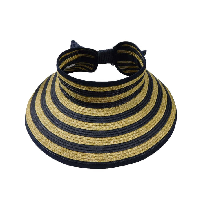 Nautical Stripe Rollup Visor - SetarTrading Hats