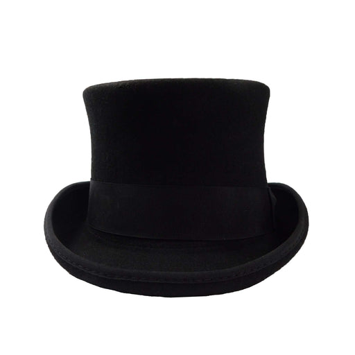 Classic Tall Black Wool Felt Top Hat by JSA for Men - SetarTrading Hats