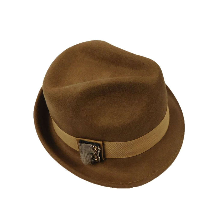 Women's Wool Trilby/Fedora - SetarTrading Hats