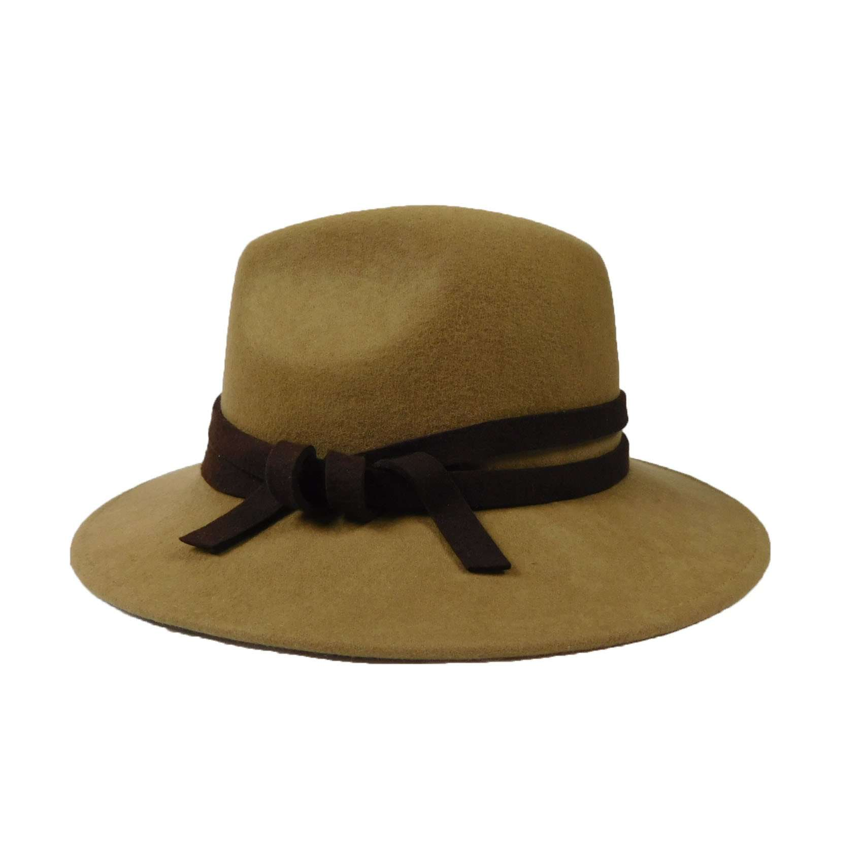 Women's Wool Felt Outback Style Hat - SetarTrading Hats