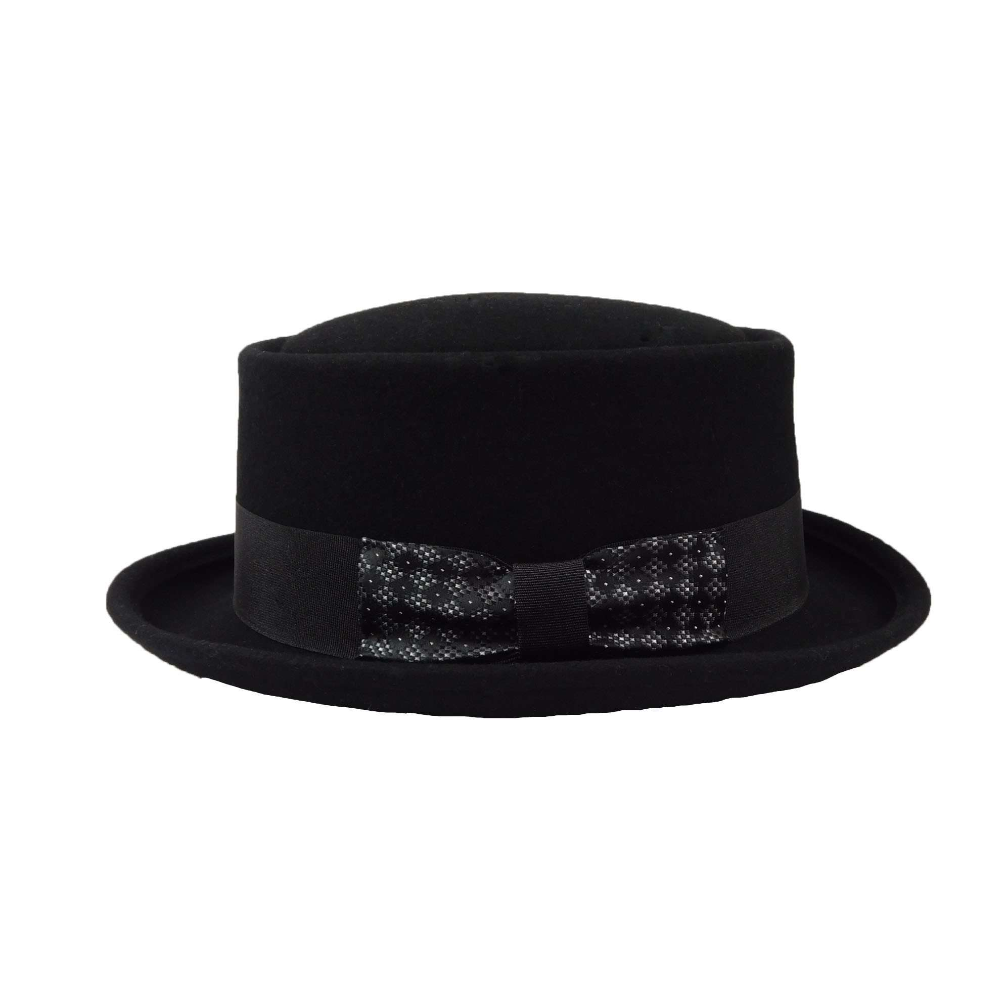 Gambler - Heisenberg Wool Felt Black by JSA for Men - Large - SetarTrading Hats
