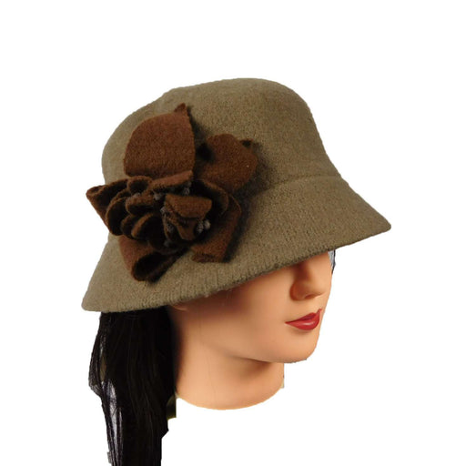 Boiled Wool Bucket Hat - SetarTrading Hats