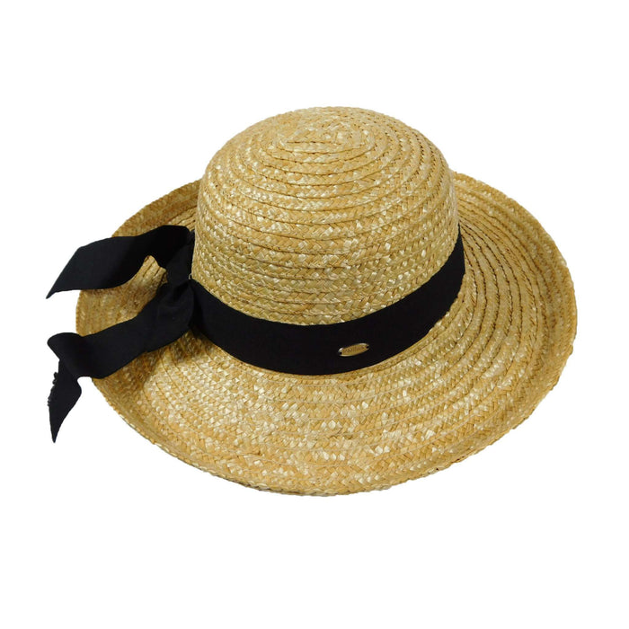 Straw Kettle Brim Hat - SetarTrading Hats