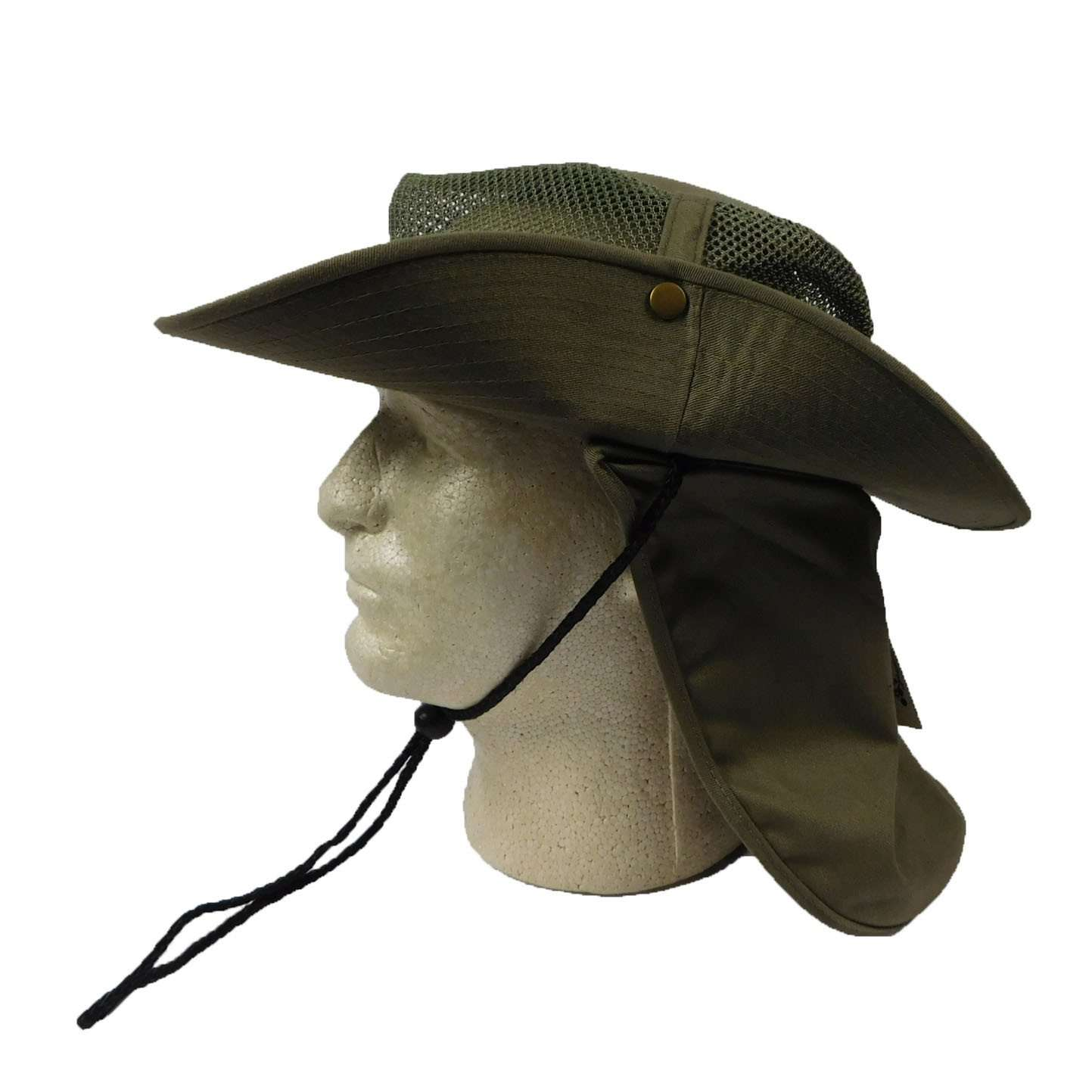 Safari Hat with Mesh Crown - SetarTrading Hats