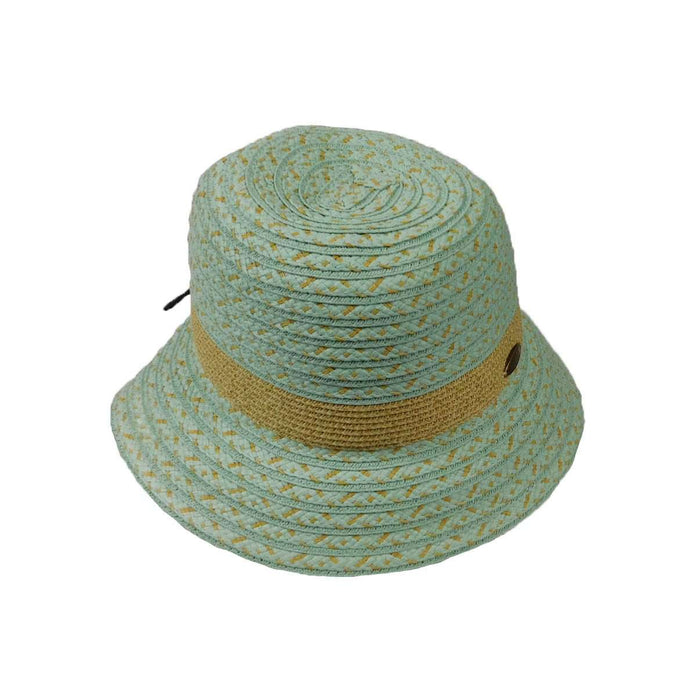 Summer Cloche with Wax Cord - SetarTrading Hats