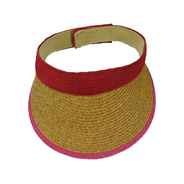 Colorful Three Tone Visor - SetarTrading Hats