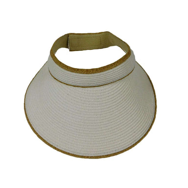 Sun Visor with Contrast Trim - SetarTrading Hats