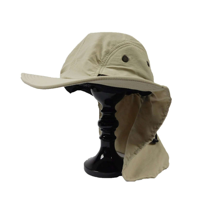 Large Bill Cap with Neck Cape - SetarTrading Hats