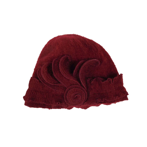 Angora Blend Ruffled Beanie - SetarTrading Hats