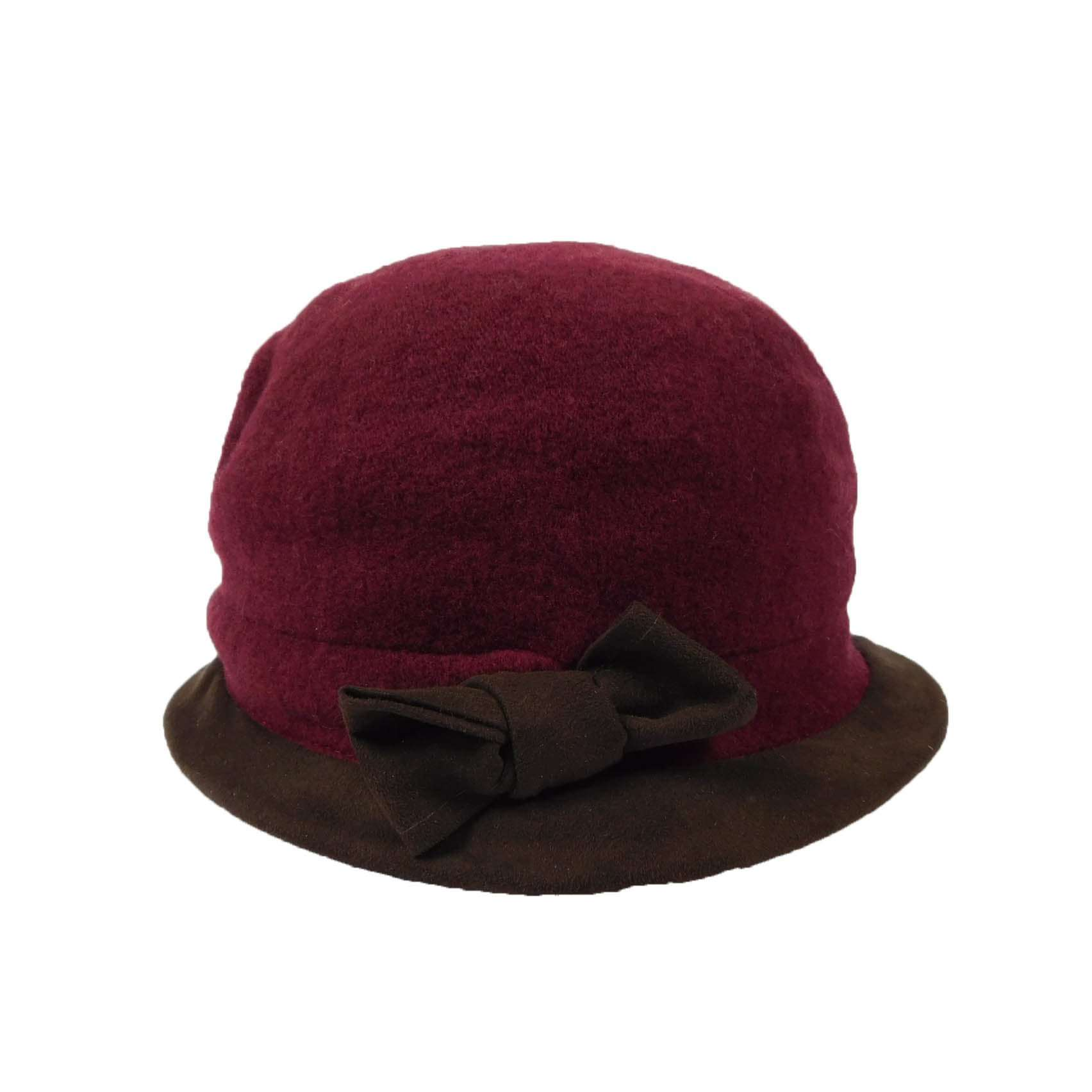 Two Tone Small Cloche - SetarTrading Hats