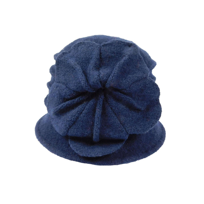 Navy Boiled Wool Hat - SetarTrading Hats