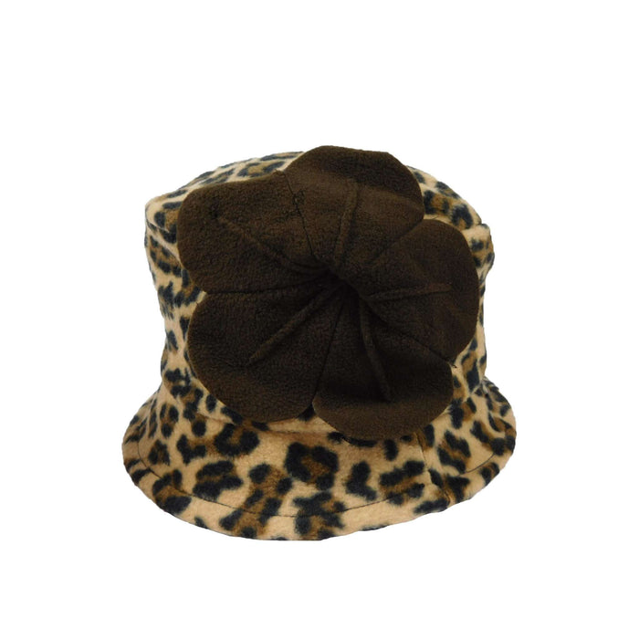 Cheetah Fleece Hat - SetarTrading Hats