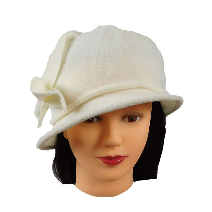 Fleece Hat with Bow - SetarTrading Hats