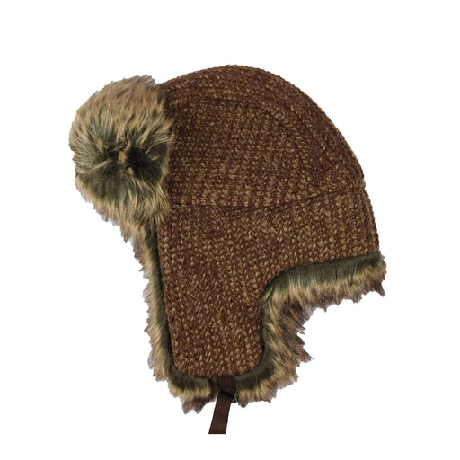 Crocheted Knit Trapper Hat - SetarTrading Hats