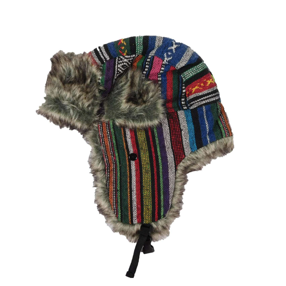 Southwest Pattern Trapper Hat - SetarTrading Hats
