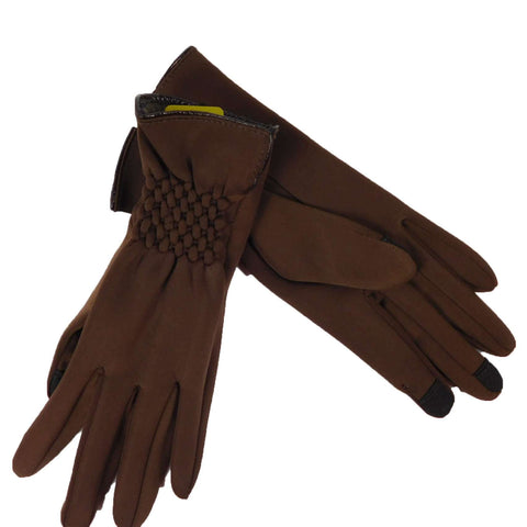Fur Lined Texting Gloves