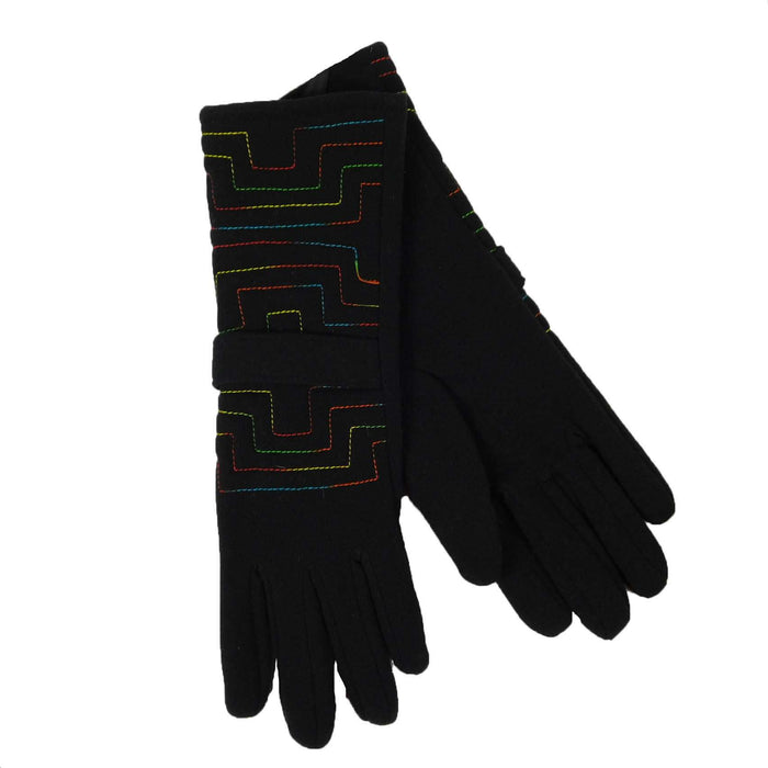 Geometric Pattern Gloves - SetarTrading Hats