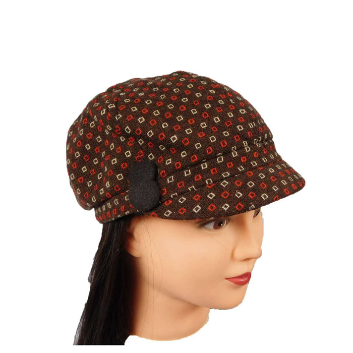 Cap with Square Stitching - SetarTrading Hats