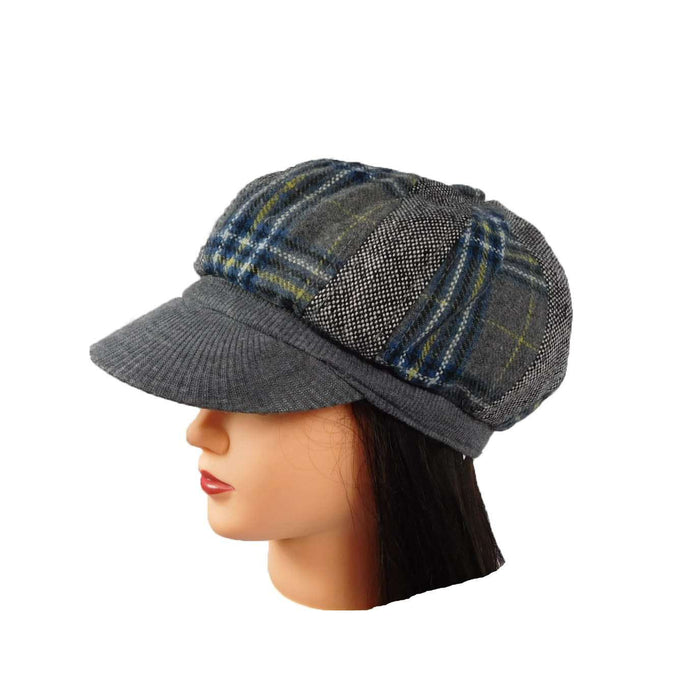 Patchwork Newsboy Cap - SetarTrading Hats
