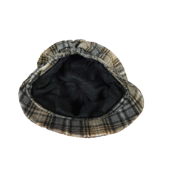 Plaid Newsboy Cap - SetarTrading Hats