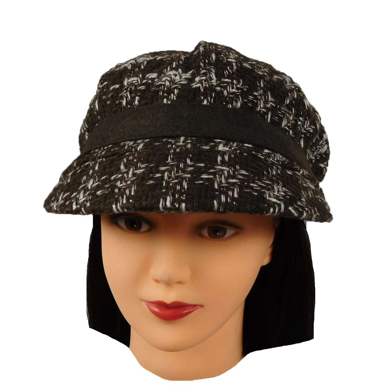 Wool Blend Newsboy Cap - SetarTrading Hats