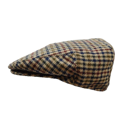 Classic Style Plaid Driving Cap